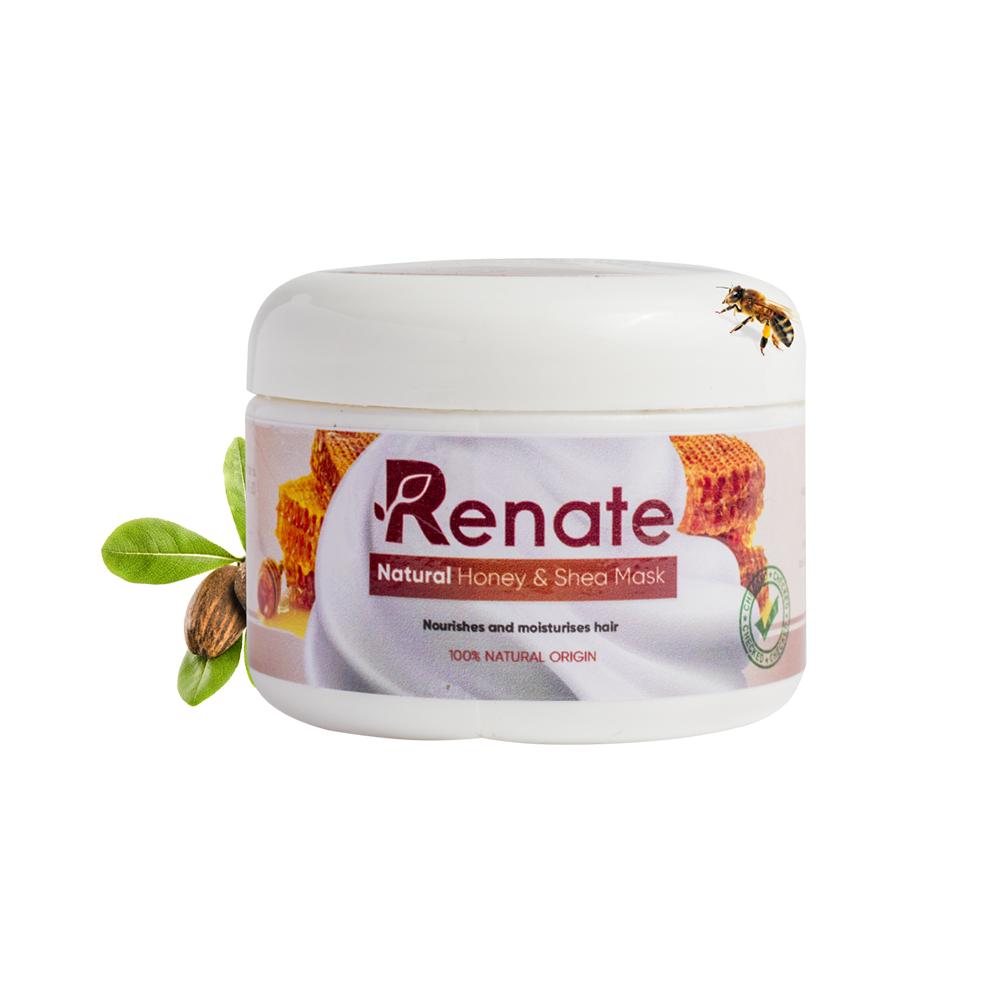 Natural Honey & Hair Mask